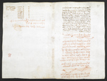 f. 277, displayed as an open bifolium with f. 272v: notes and sketches