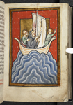 Cuthbert at sea
