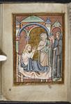 Cuthbert healing the wife of Hildemaer