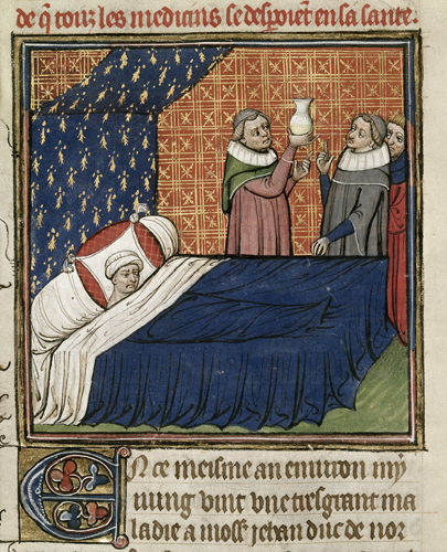 Illness of the Duke of Normandy