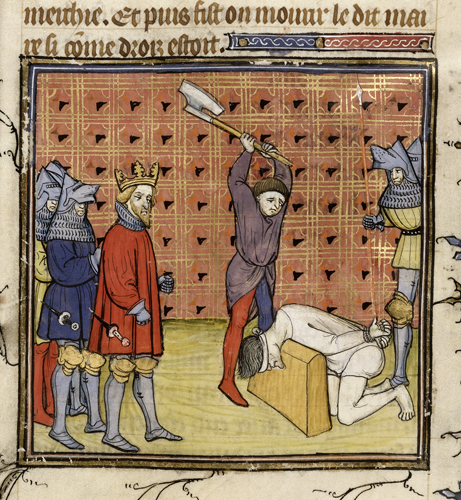Execution of the Jacquerie
