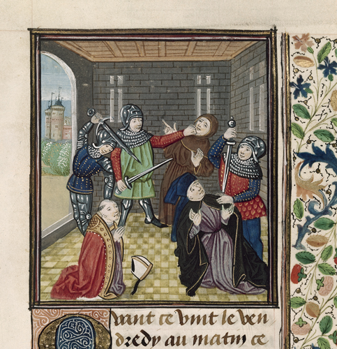 Murder of the archbishop of Canterbury
