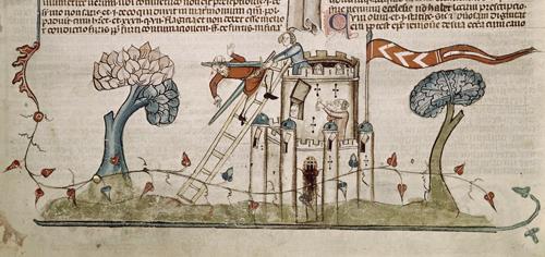 Invasion of a castle