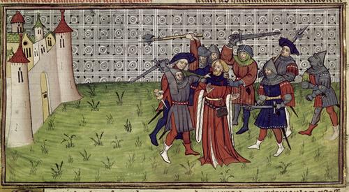 Killing of the bailiff