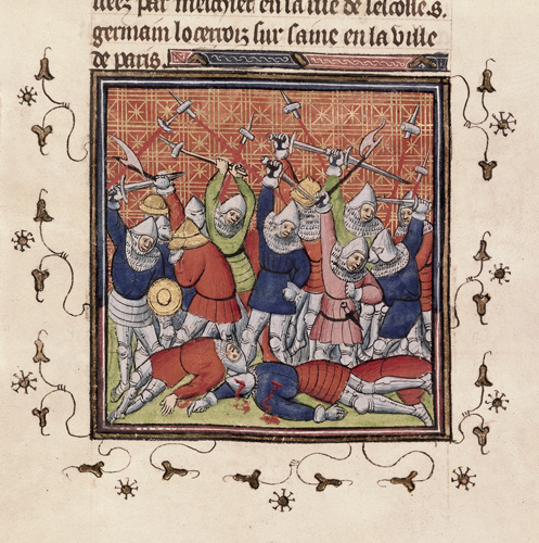 Fighting at Bruges