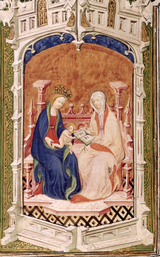 Anne and the Virgin and Child