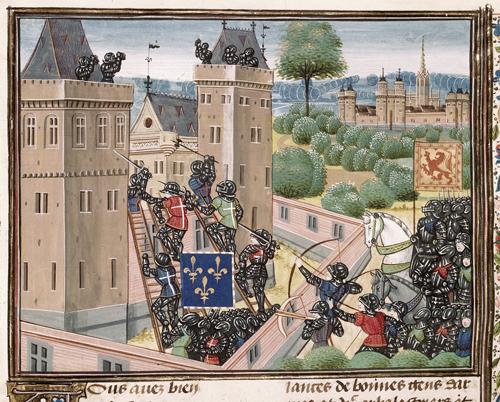 Capture of Wark Castle