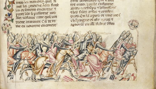 Battle with the Carthaginians