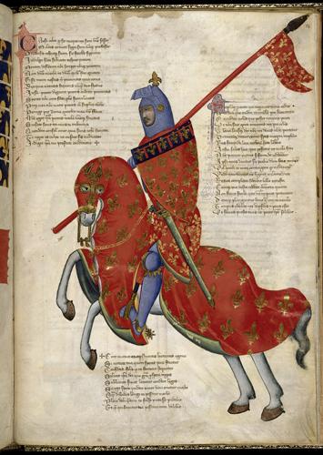 Armed knight