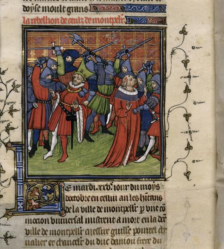 Revolt at Montpellier