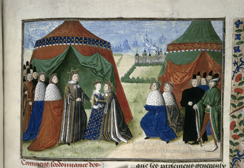Meeting of Richard II and Isabella