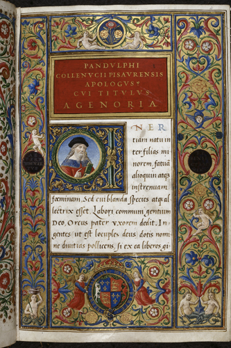 Frontispiece with the arms of Henry VIII