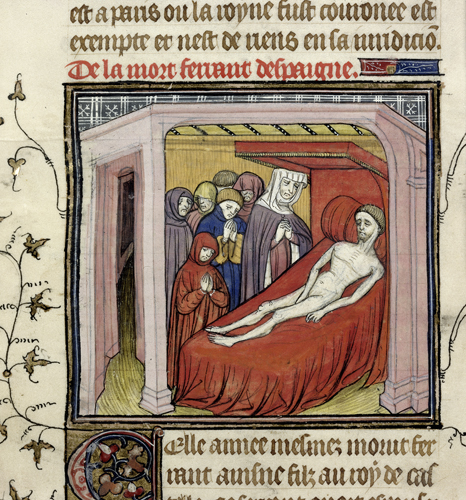 Death of Ferdinand of Castile