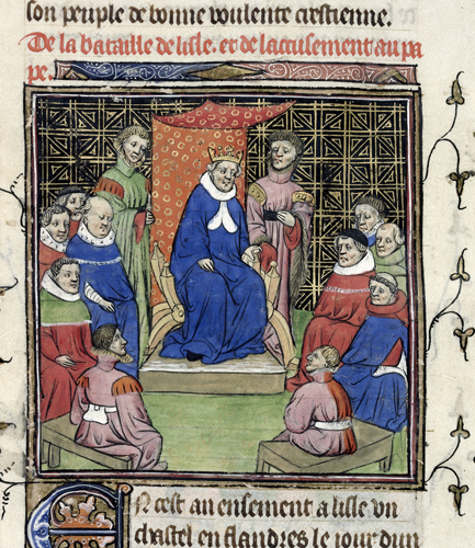 Council of barons and clergy