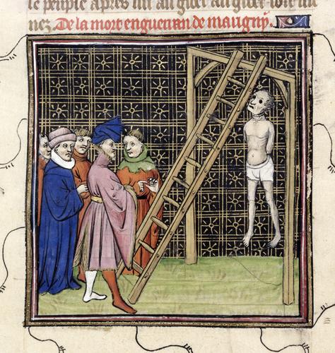 Enguerrand de Marigny hanged