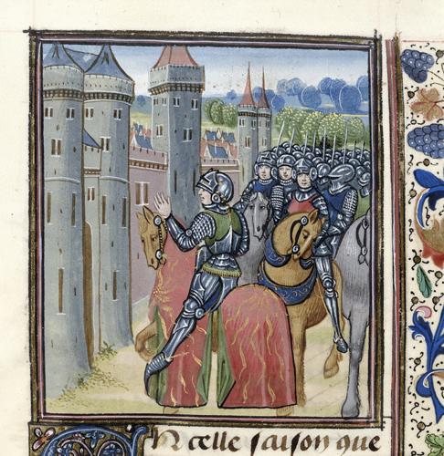 Siege of La Roche de Vendaix