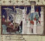 Duke of Salisbury arriving at Conway