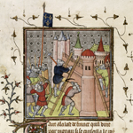 French destroying Genoa