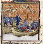 Sea fight off of La Rochelle
