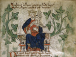 Stephen enthroned