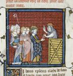 Cardinal Simon preaching a crusade