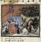 Richard II knighting Henry of Monmouth