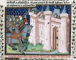 Alexander attacking a city