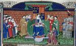 Henry VI enthroned