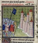 French besieging