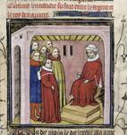 Regent holding a council