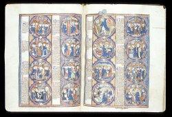 Harley MS 1527, ff. 55v-56