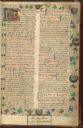 Arundel MS 130, f. 1