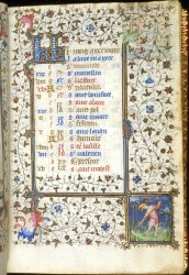 June, Harley MS 2934, f. 8