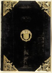 Burney MS 38, front cover