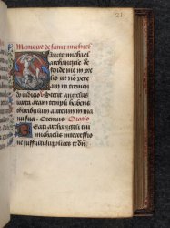 Egerton MS 937, f. 21