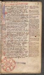 Burney MS 224, f. 3