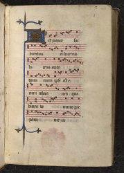 Egerton MS 2601, f. 1