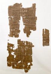 Egerton Papyrus 2, verso