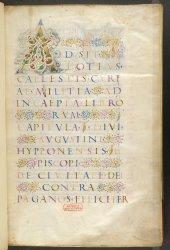 Burney MS 292, f. 1