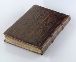Egerton MS 272, lower cover