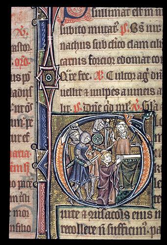 Martyrdom of a bishop