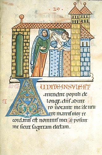 Zacharias and angel