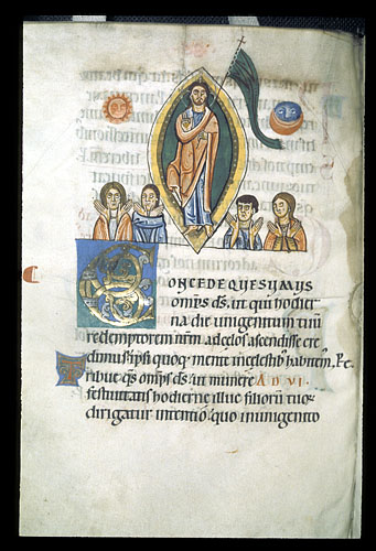 Christ in a mandorla