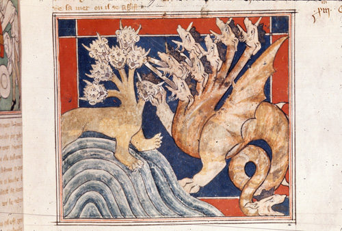 Beast and dragon