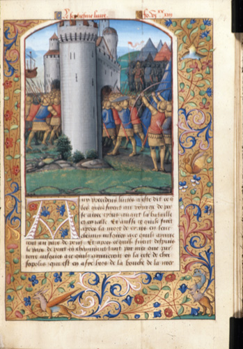 Fighting at the gates of Byzantium