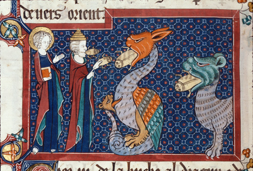 John, the false prophet, dragon and beast