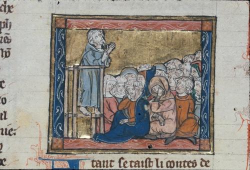 Joseph of Arimathea preaching