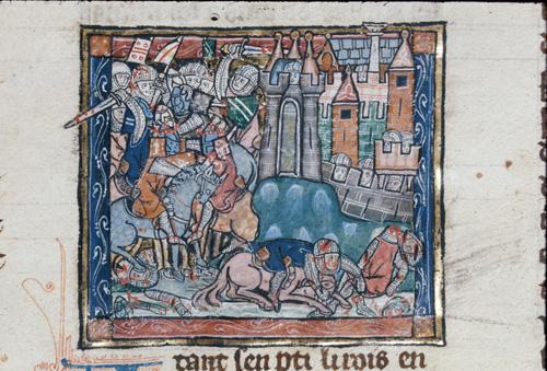 Evalac besieging Tholomers