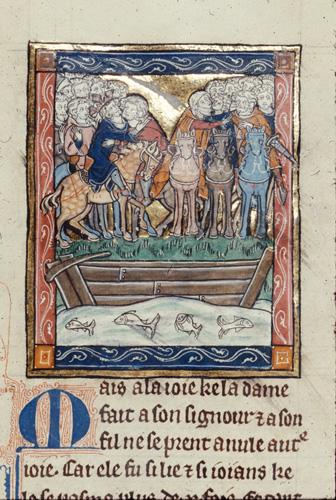 Mordrains and Duchess Flagentine