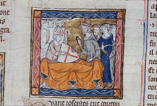 Joseph on his deathbed